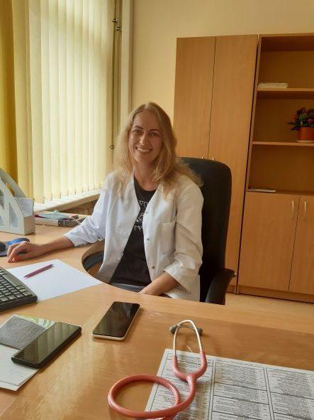 Šeimos gydytoja Ieva Keršytė